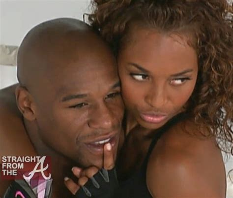 """Just Friends? Chilli & Floyd Mayweather Spotted Out The """"A"""