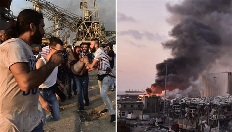 Beirut explosion: Shocking videos show scale of deadly