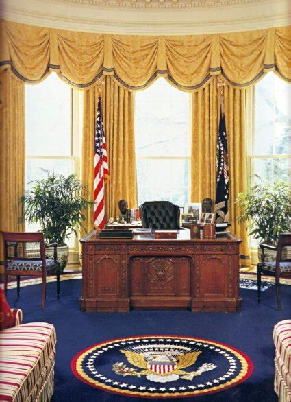 A Fresh Coat of Bland, the Oval Office Redecoration
