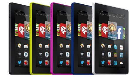 """Amazon Announces New Kindle Fire HD 6 and 7, """"Most"""