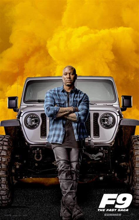 Fast & Furious 9 character posters include first look at