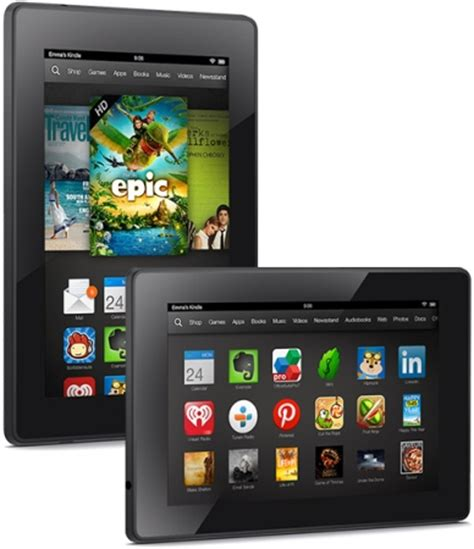 Amazon Kindle Fire HD 7 prices now start at $139