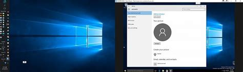 Windows 10 Allowed Only Administrator to Remove it's Own