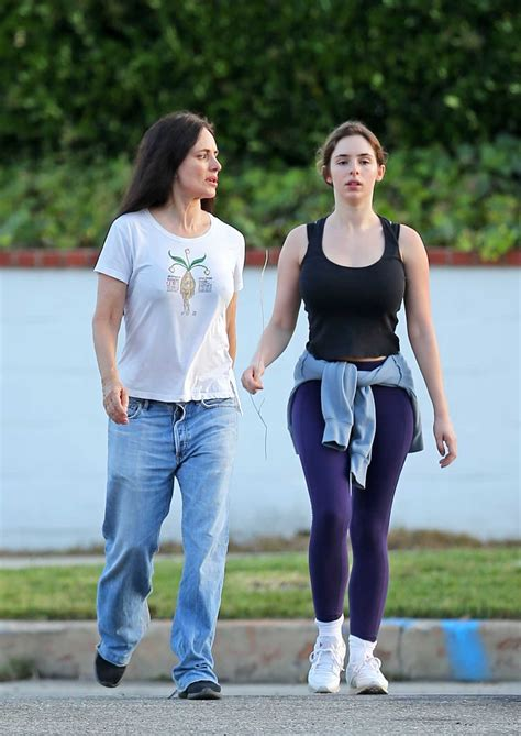 Madeleine Stowe in a White Tee Was Seen Out with Her