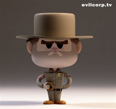 Cool Art: Stranger Things figures from EvilCorp   Live for