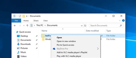 Remove SkyDrive Pro Option From Windows 10 Context Menu