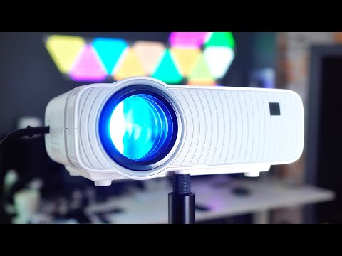 4k HD Mini Projector 1080P With Bluetooth Wifi Android 5