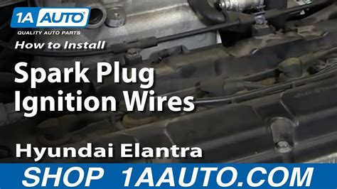 How To Install Replace Spark Plug Ignition Wires 2001-06