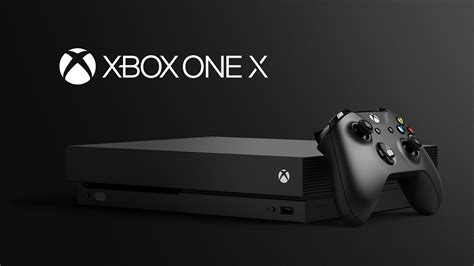 Xbox One X is Microsoft's next game console, arriving on