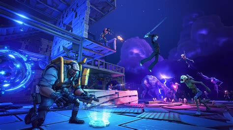 Epic's free-to-play Fortnite delivers a suspense-filled