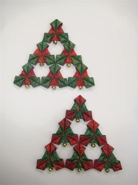 Christmas triangles - decoration - PDF pattern - Oliven