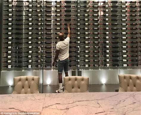 Floyd Mayweather shows off his £19m Beverly Hills castle