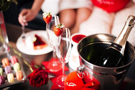 Romantic Valentine's Day Evening With Love Free Stock