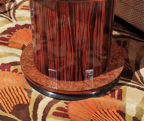 Art Deco Fluted Side Bar Table | Bars | Art Deco Collection