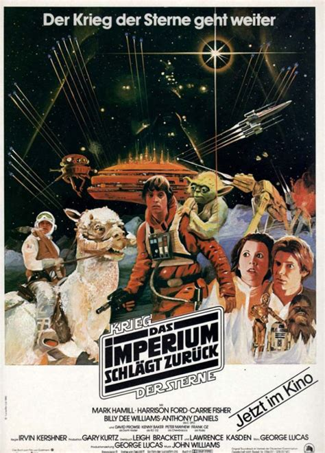 A collection of vintage Star Wars posters from around the