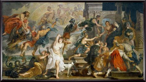 The Apotheosis of Henri IV and the Proclamation of the