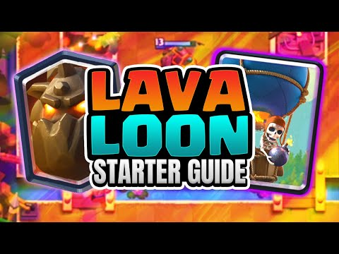 AMAZING LAVALOON DECK! LIVE GAMEPLAY! Clash Royale EASY