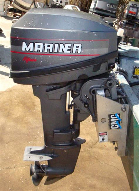 15 hp Mercury Mariner Outboard Boat Motor For Sale