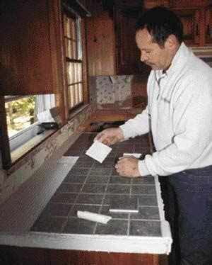 Tiling Over A Laminate Countertop   JLC Online   Finishes