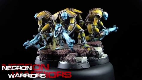 Rumplemaster - Finished Necron Army - Part 1 - YouTube