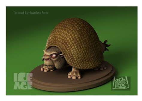 Jonathan Paine's Portfolio: Ice Age Character Models and