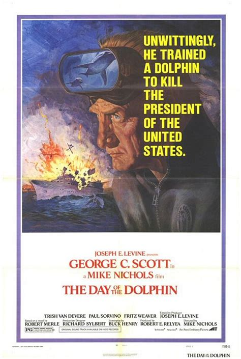The Day of the Dolphin Movie Poster (#3 of 4) - IMP Awards