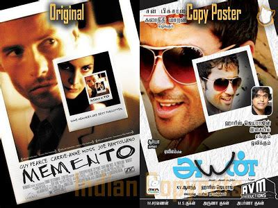 Indian Copycats: Tamil Movie Posters Copied/Inspired