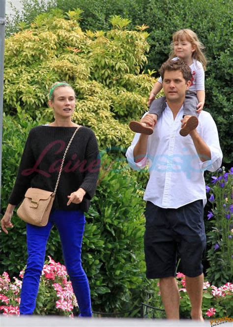Diane Kruger and Joshua Jackson spend time with his sister