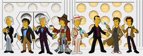 Springfield Punx: A WHOsday full of more 3rd Doctor (and Rory)