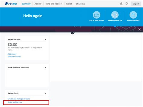 PayPal Importer - Step 1 - Setting Up PayPal - KashFlow