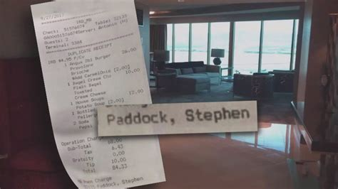 What Las Vegas Gunman Ordered From Hotel Room Service